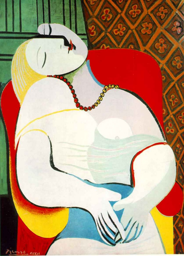 Picasso's Le Rêve was one of the most high-profile art insurance claims ever (Photo: Google)