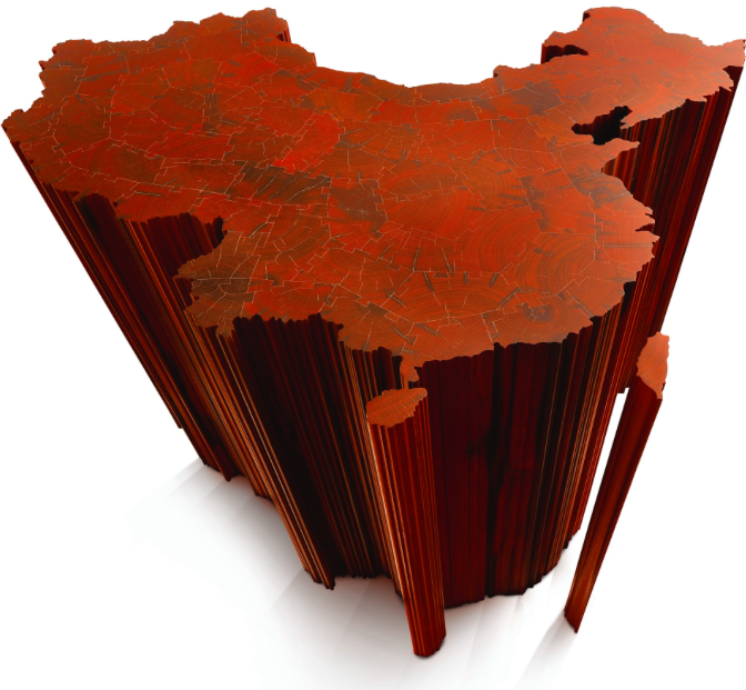 Ai Weiwei's Wooden Map of China Continues to Stir the Heat at