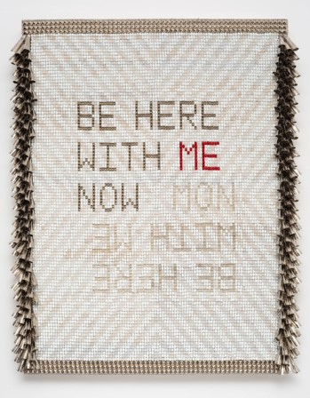 Be here with me now by Jeffrey Gibson  Marc Straus