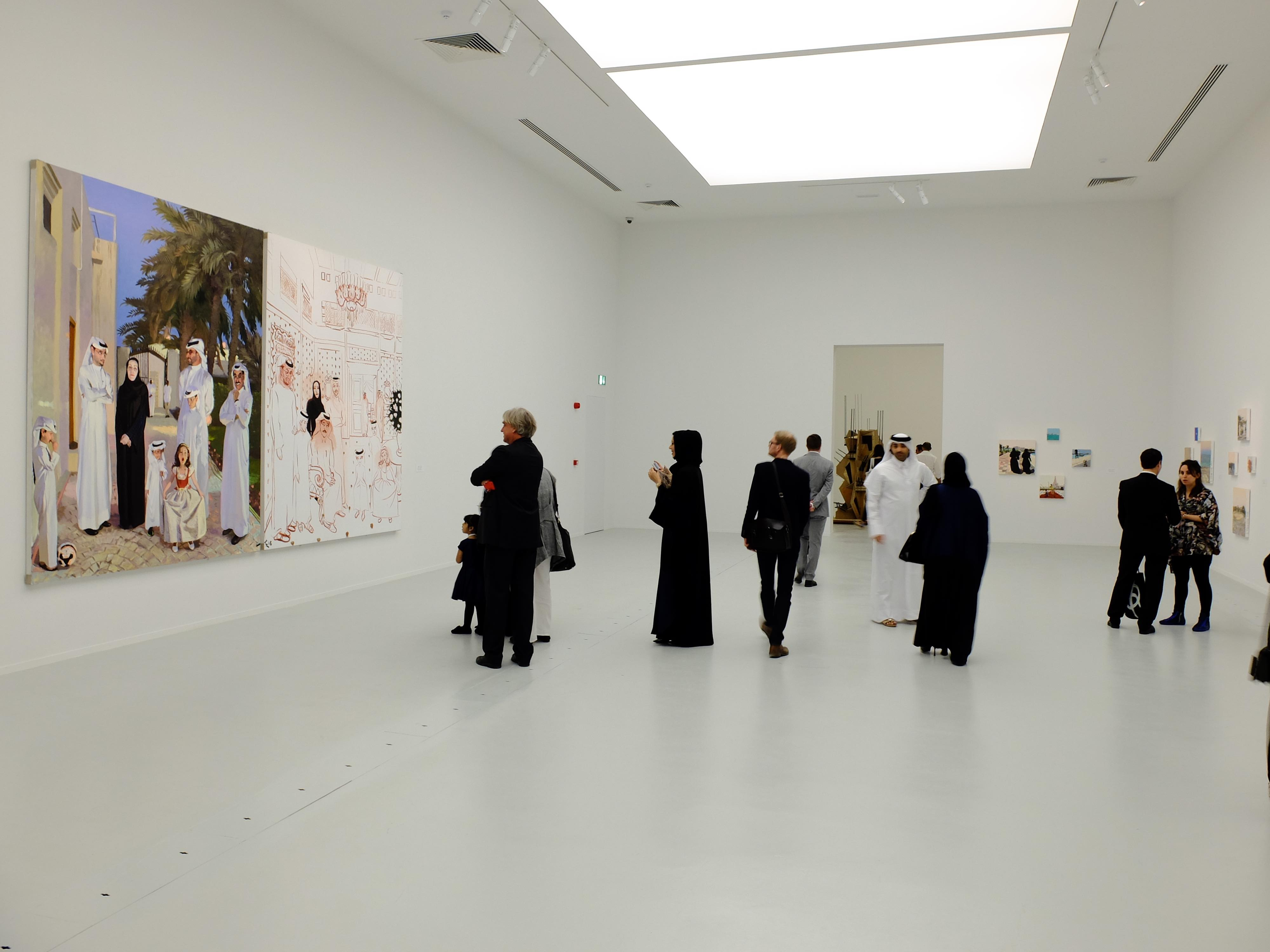 What About The Art? Contemporary Art From China, Installation View.  Photograph By Jeffrey