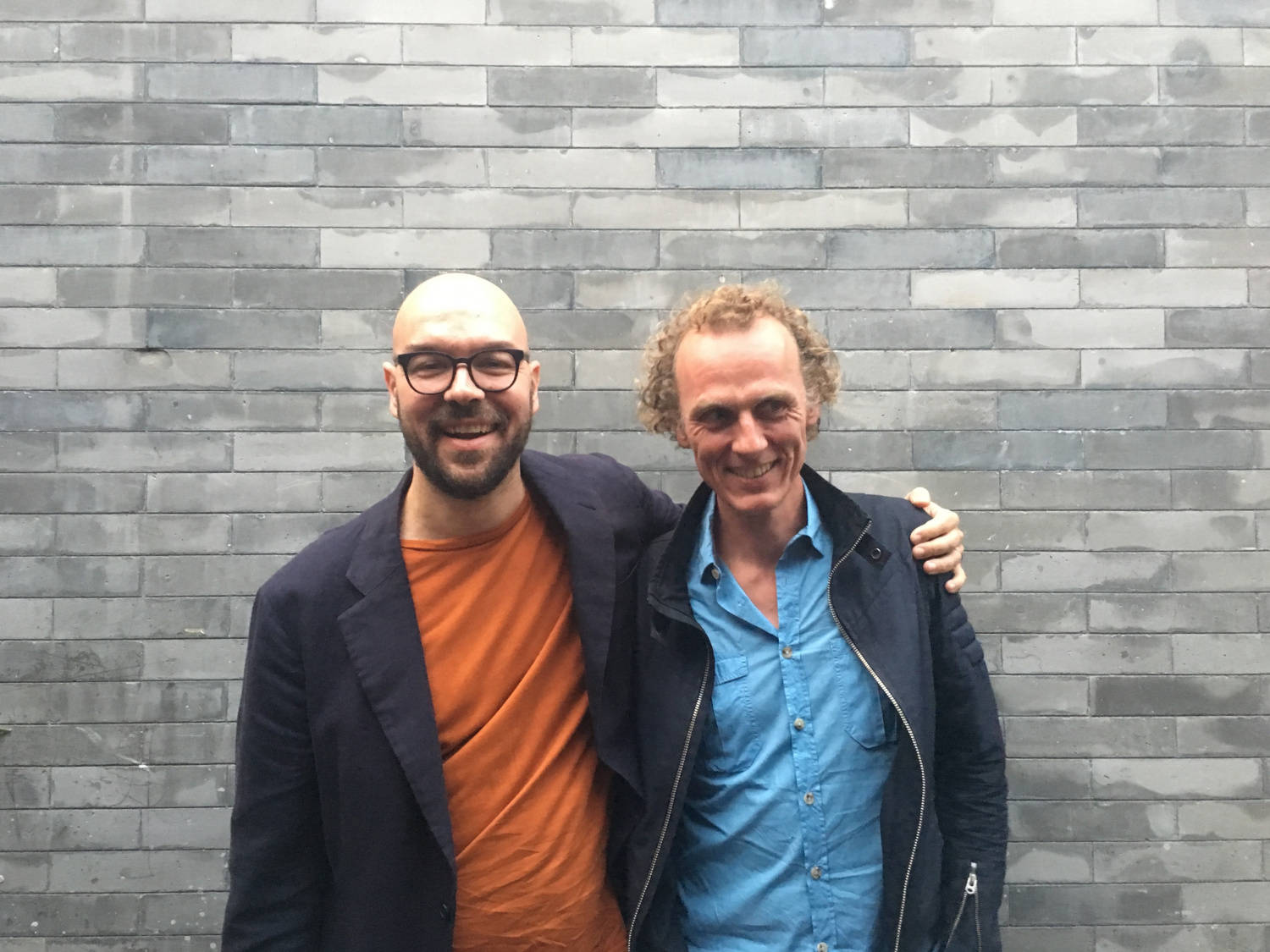 Designers behind the brand ZaoZuo: Luca Nichetto and Richard Hutten