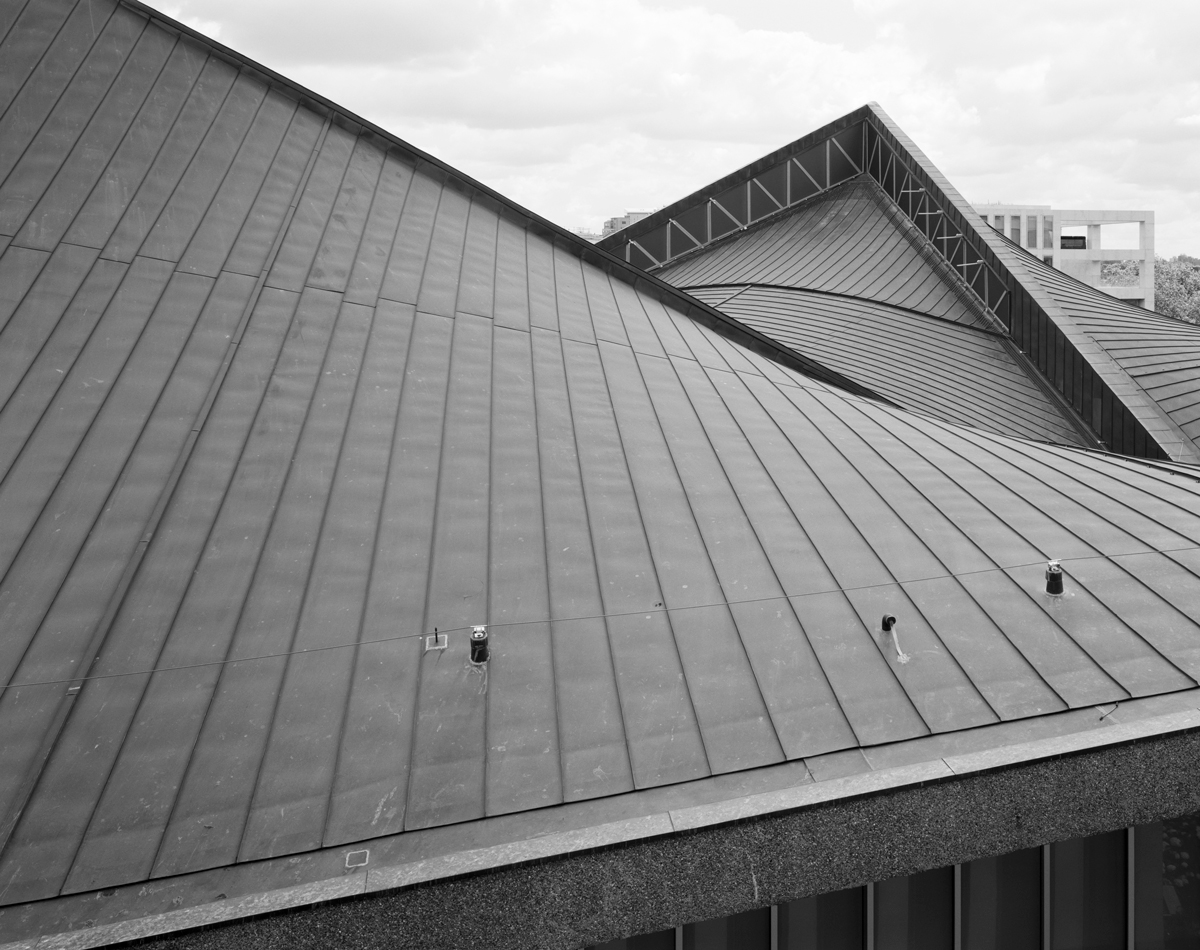 The Design Museum has a parabaloid roof from 1962. Photo: Helene Binet