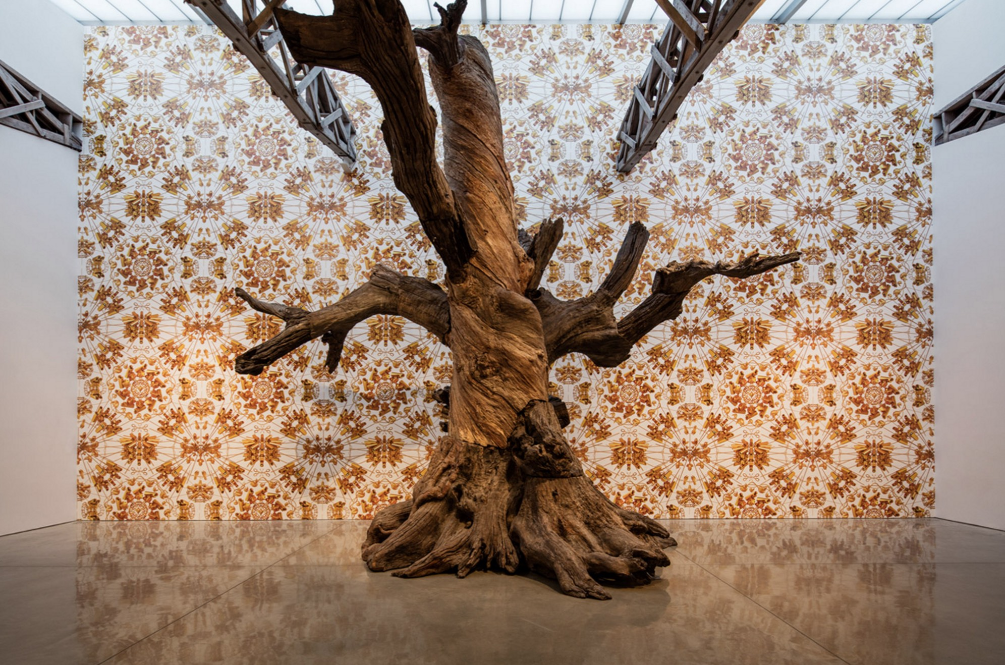 Ai Weiwei, Roots and Branches, 2016. Mary Boone Gallery, New York. Courtesy of the artist and the gallery.