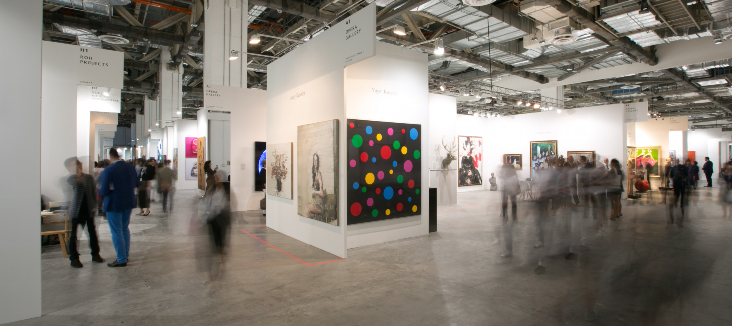Art Stage Singapore 2017. Image courtesy of Art Stage Singapore