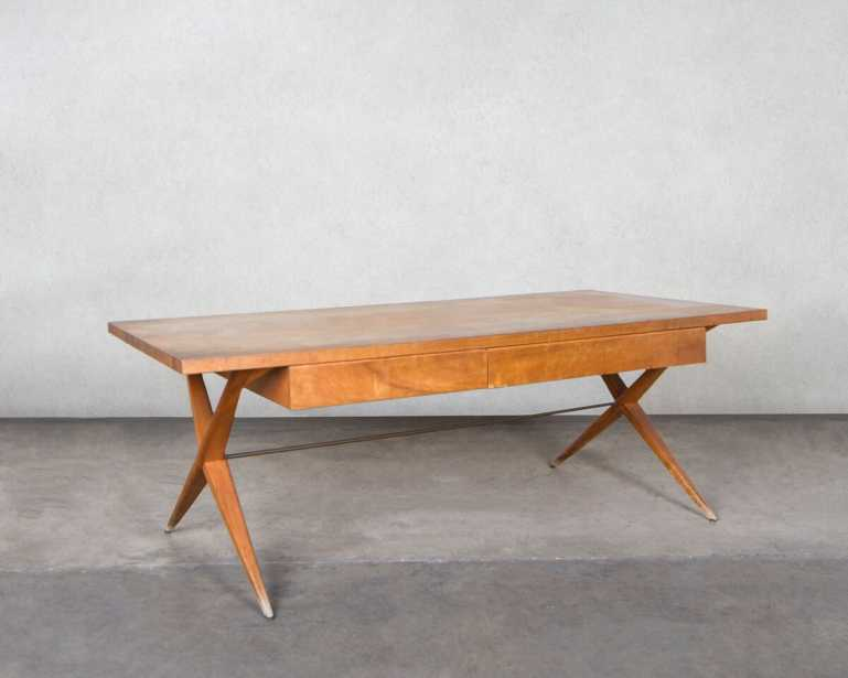 Superior ... Desk For The Morton And Lenore Weiss House, Designed 1949.